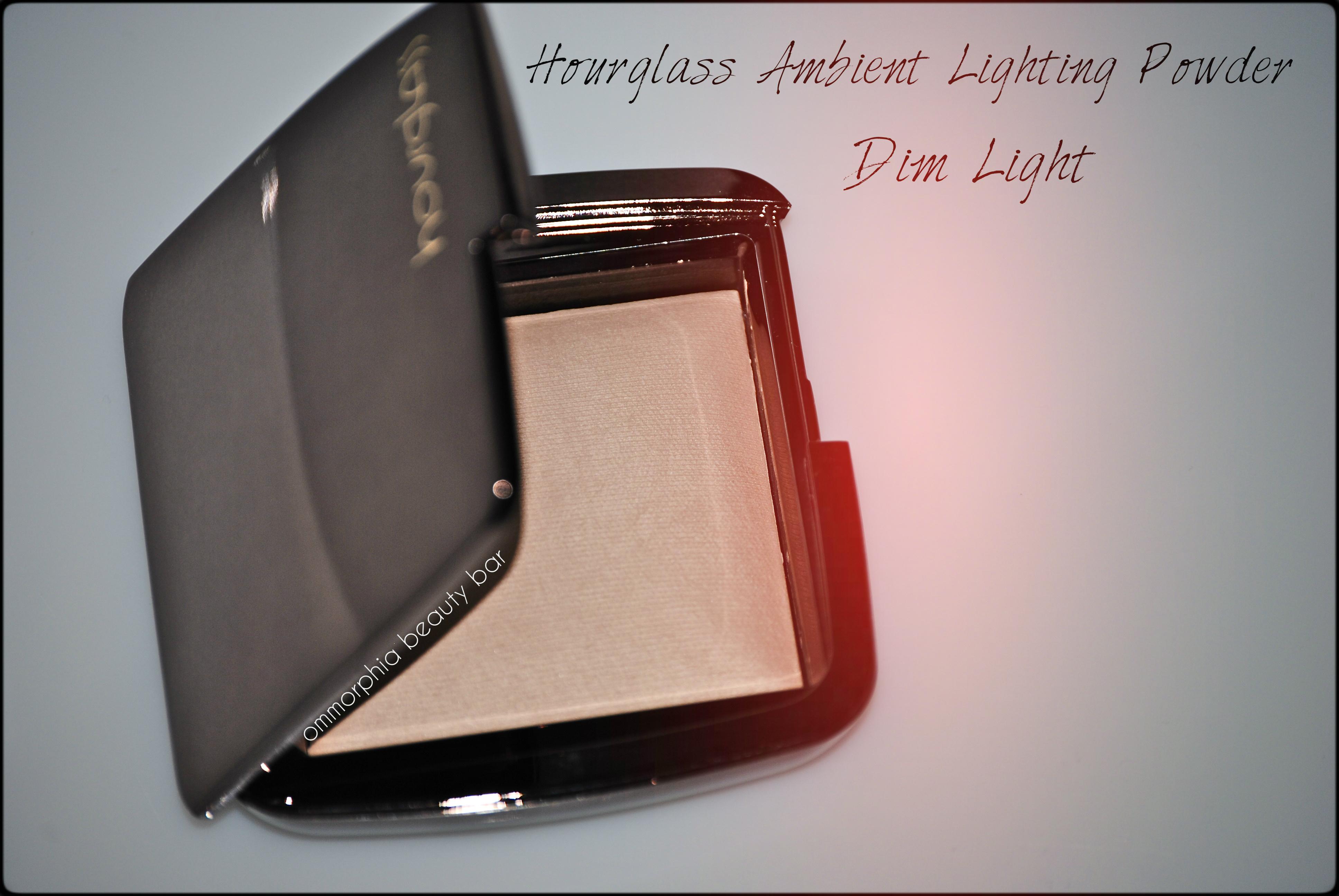 hourglass dim light ambient lighting powder. Black Bedroom Furniture Sets. Home Design Ideas