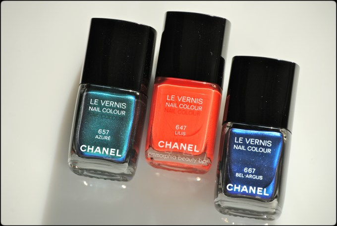 CHANEL Summer 2013 Le Vernis closer