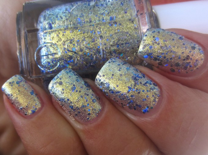 Essie On A Silver Platter swatch 3