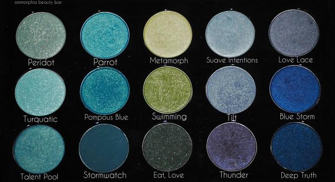 MAC Palette 4 oceanic shades