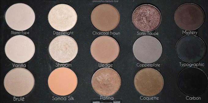 MAC Palette 6 neutrals & staples