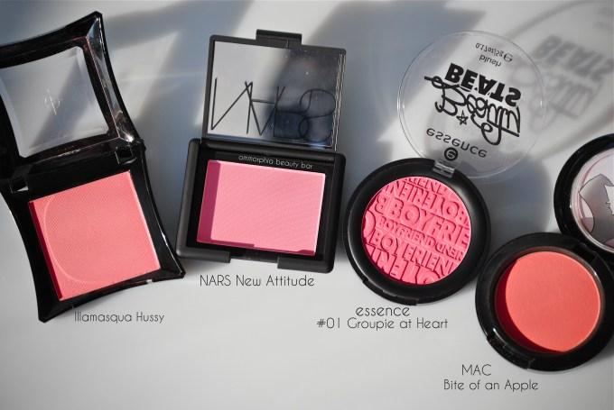 NARS New attitude blush & comparisons