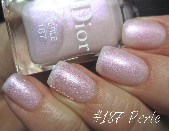 Dior Perle swatch