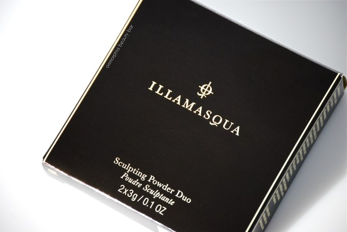 Illamasqua Sculpting Powder Duo box