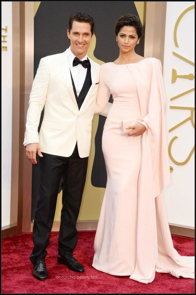 Matthew McConaughey Dolve & Gabbana tux & Camila Alves Gabriela Cadena gown