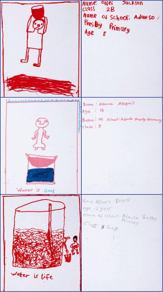 Acqua for Life drawings
