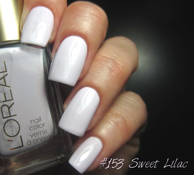 L'Oreal #153 Sweet Lilac swatch