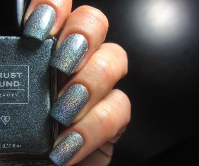 Trust Fund Beauty Blue Blooded swatch