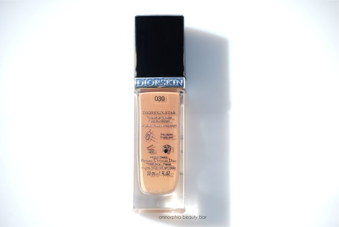 Dior Diorskin Star Foundation #030 Medium Beige label