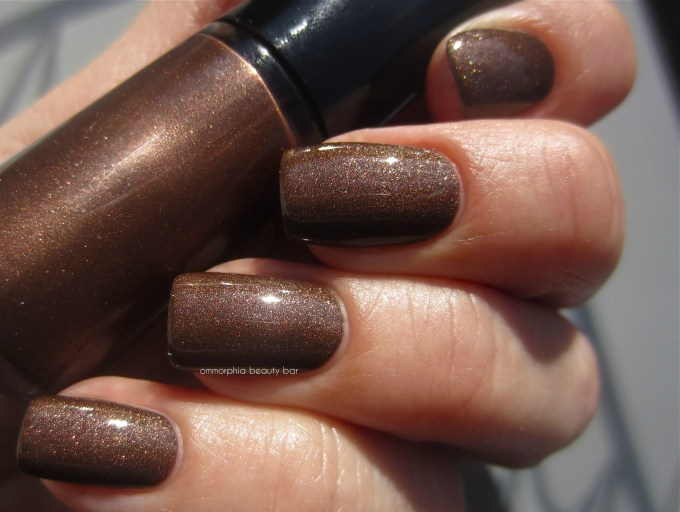 GA #214 Woodstone swatch 2 with top coat