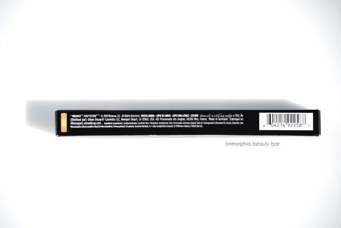 UD Mrs. Mia Wallace Lip Pencil ingredients