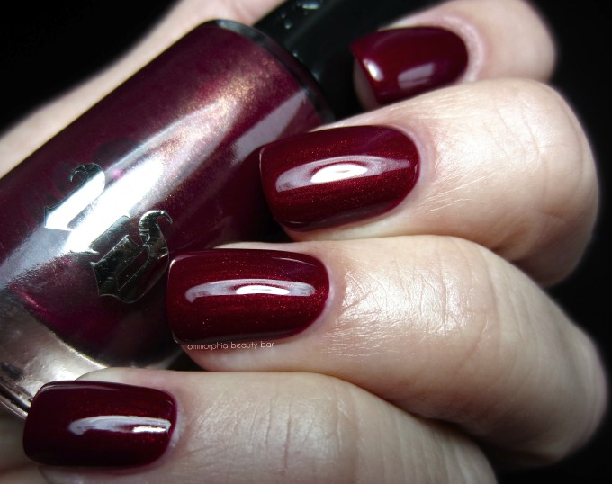 UD Mrs. Mia Wallace polish swatch 3