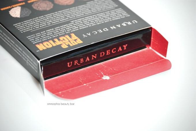 UD Pulp Fiction palette open box