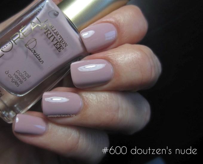 L'Oréal #600 Doutzen's Nude swatch