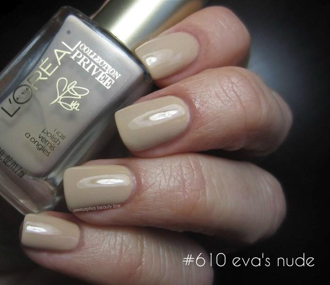 L'Oréal #610 Eva's Nude swatch