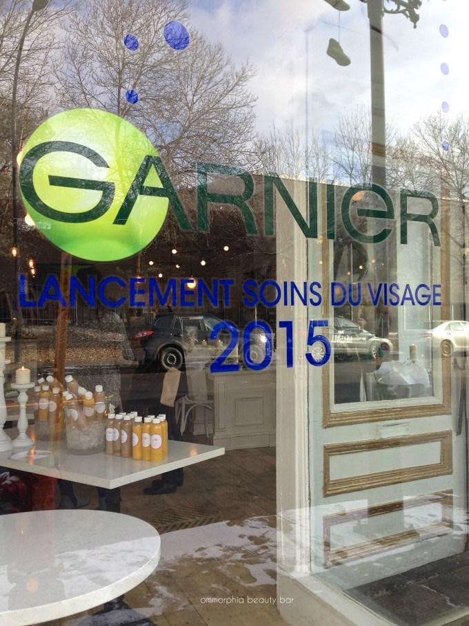 Garnier event storefront 2