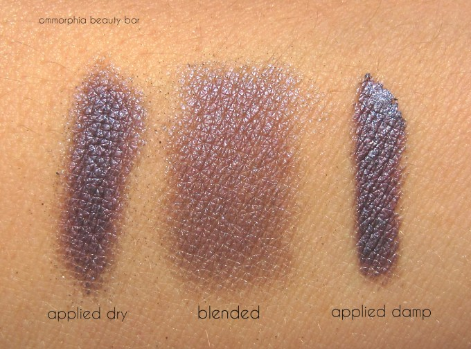 NARS Canberra swatches