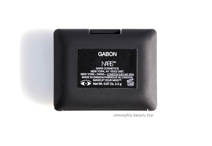 NARS Gabon label