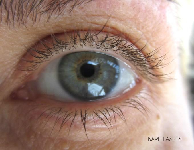 Benefit Roller Lash bare lashes