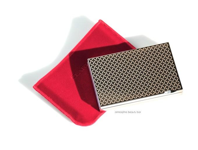 Clarins Garden Escape compact & pouch