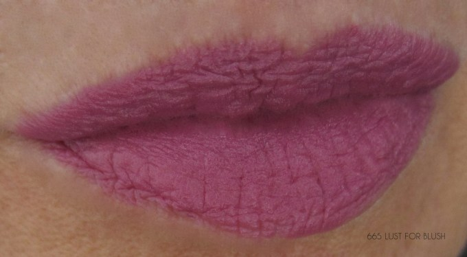 Maybelline Lust for Blush swatch