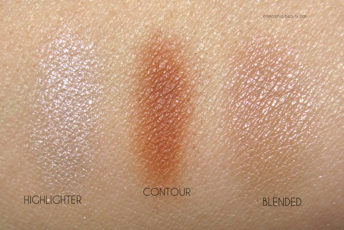 MUFE Pro Sculpting Duo swatches