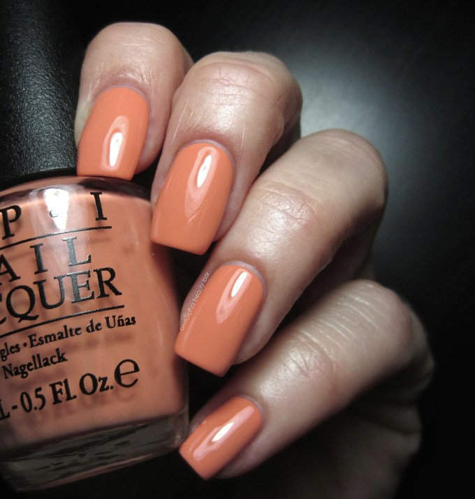 OPI Is Mai Tai Crooked swatch
