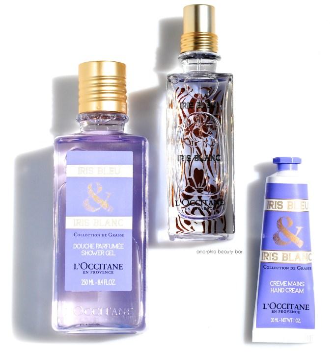 L'Occitane Iris Bleu & Iris Blanc trio 2