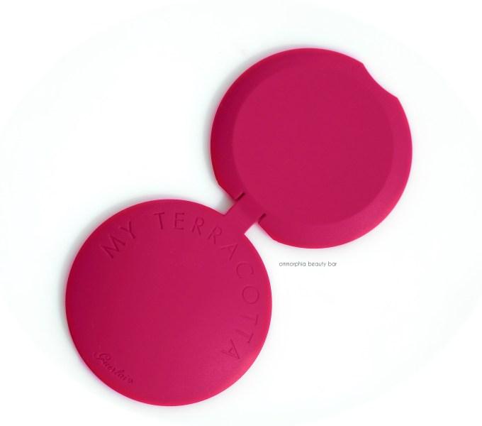 Guerlain Terracotta Raspberry silicon sleeve