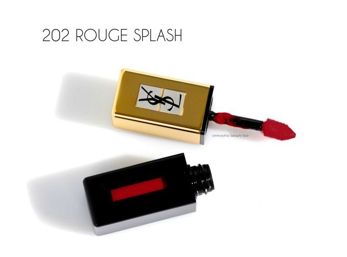 YSL Rouge Splash Pop Water