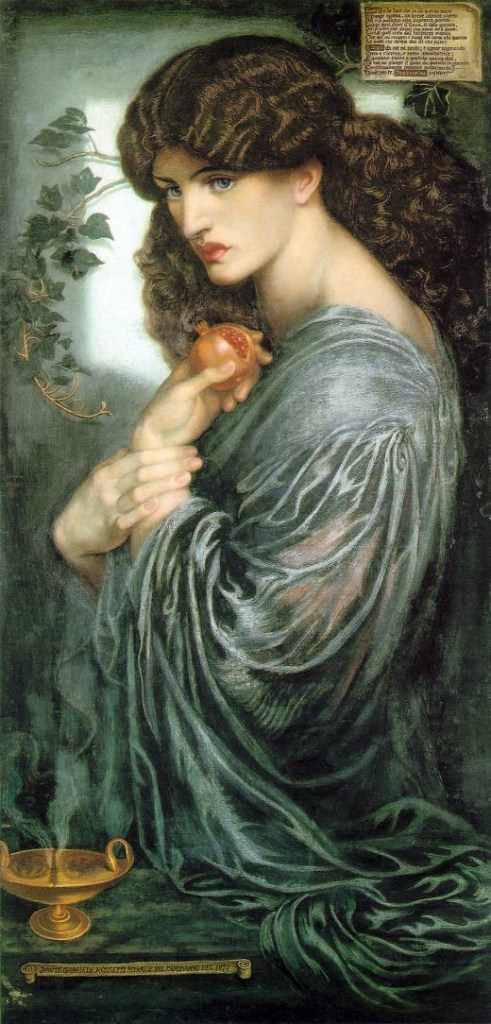Rossetti Jane Morris as Proserpine 1874