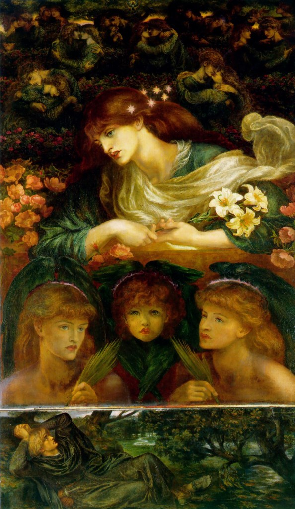 The Blessed Damozel by Rossetti