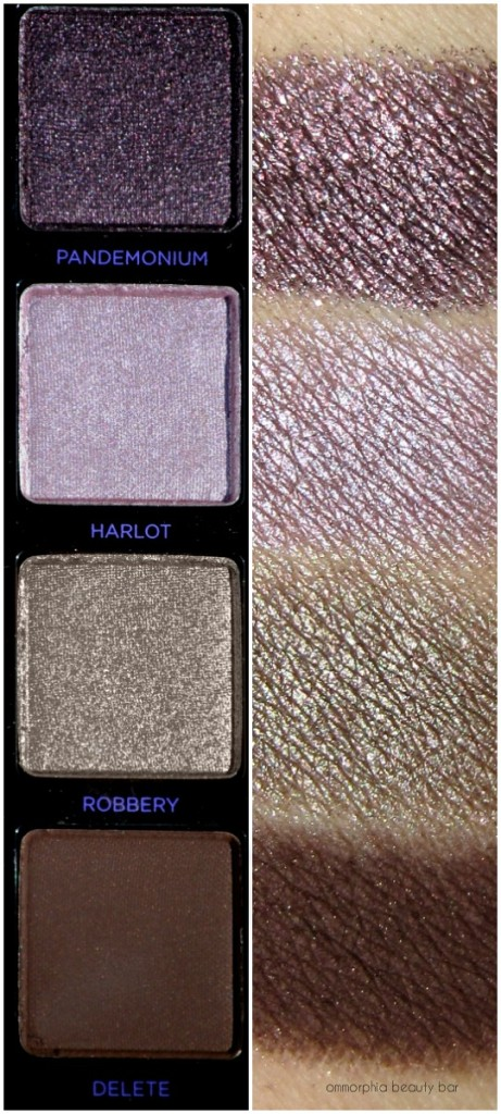UD Vice 4 swatches row 5