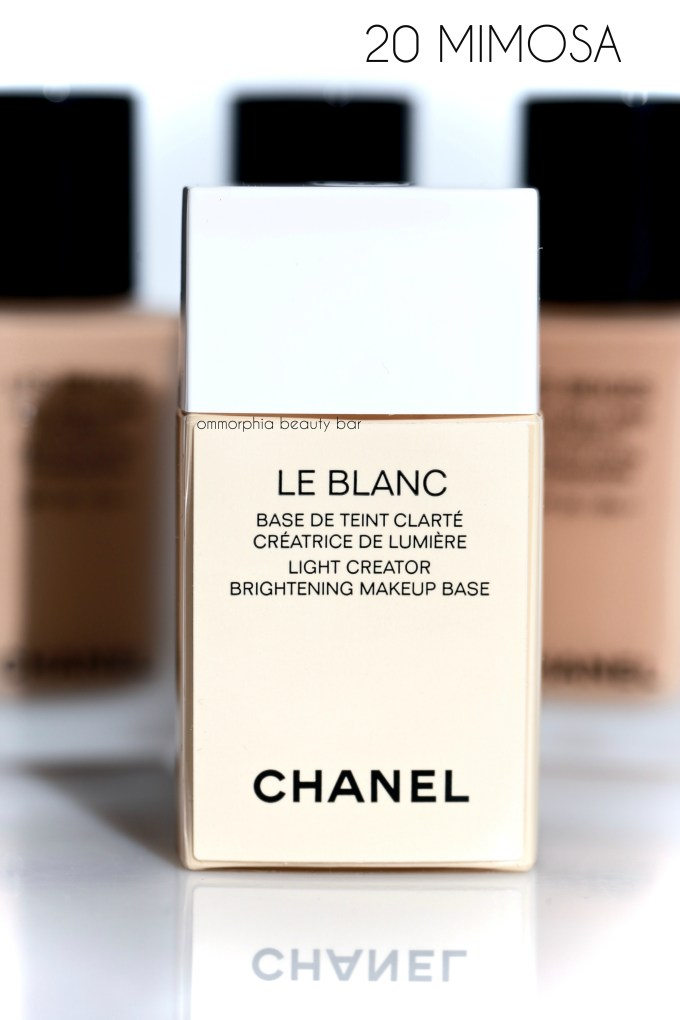 CHANEL Mimosa Le Blanc
