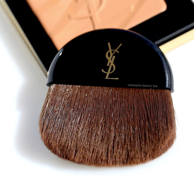 YSL Fire Opal Bronzing Stones brush