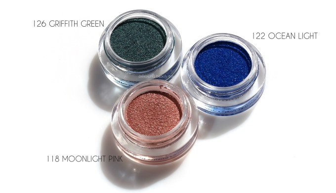 CHANEL Moonlight Pink, Griffith Green & Ocean Light 2