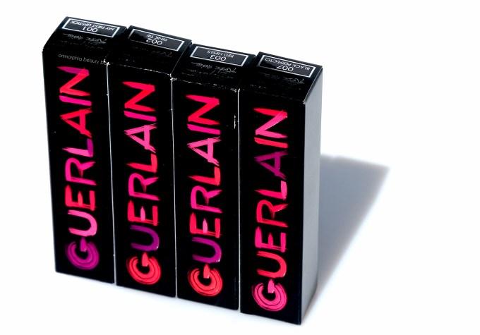 Guerlain La Petite Robe Noire Lipsticks packaging