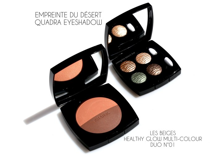 CHANEL Summer 2016 quad & bronzer 2