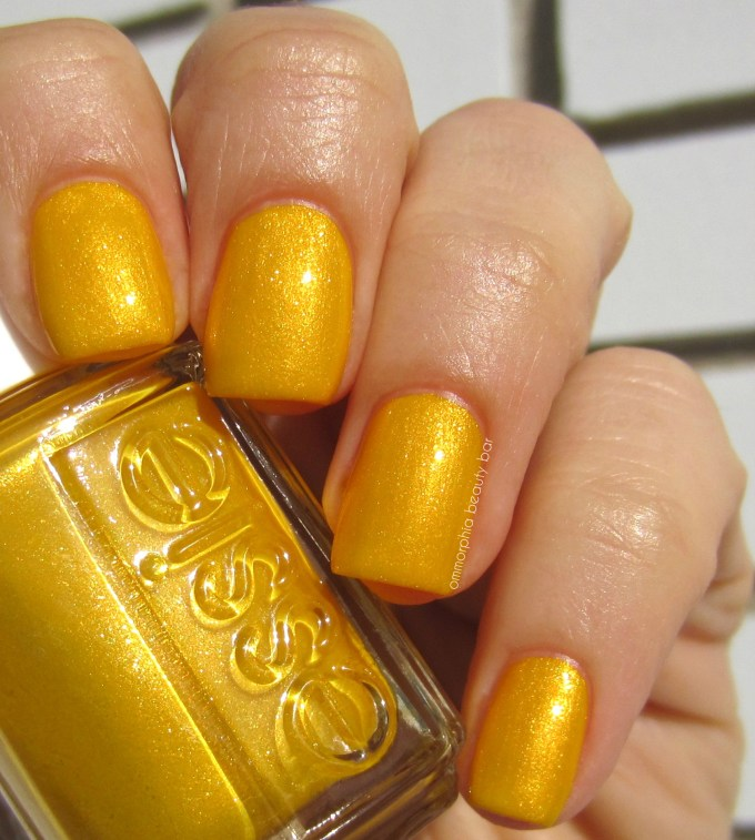 Essie Aim to Misbehave swatch 1