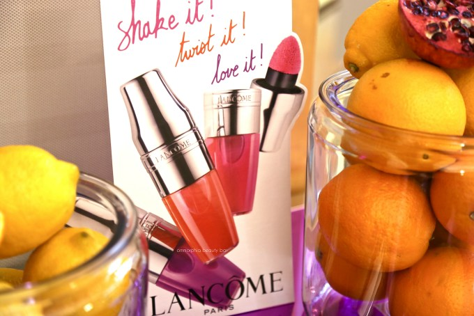 Lancome Juicy Shaker event 5