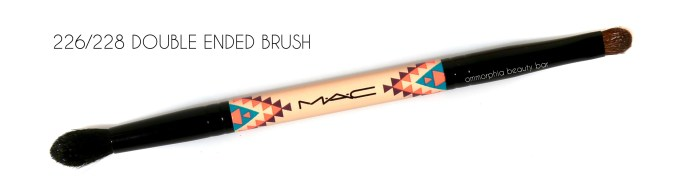 MAC Vibe Tribe 226 228 Double Ended Brush