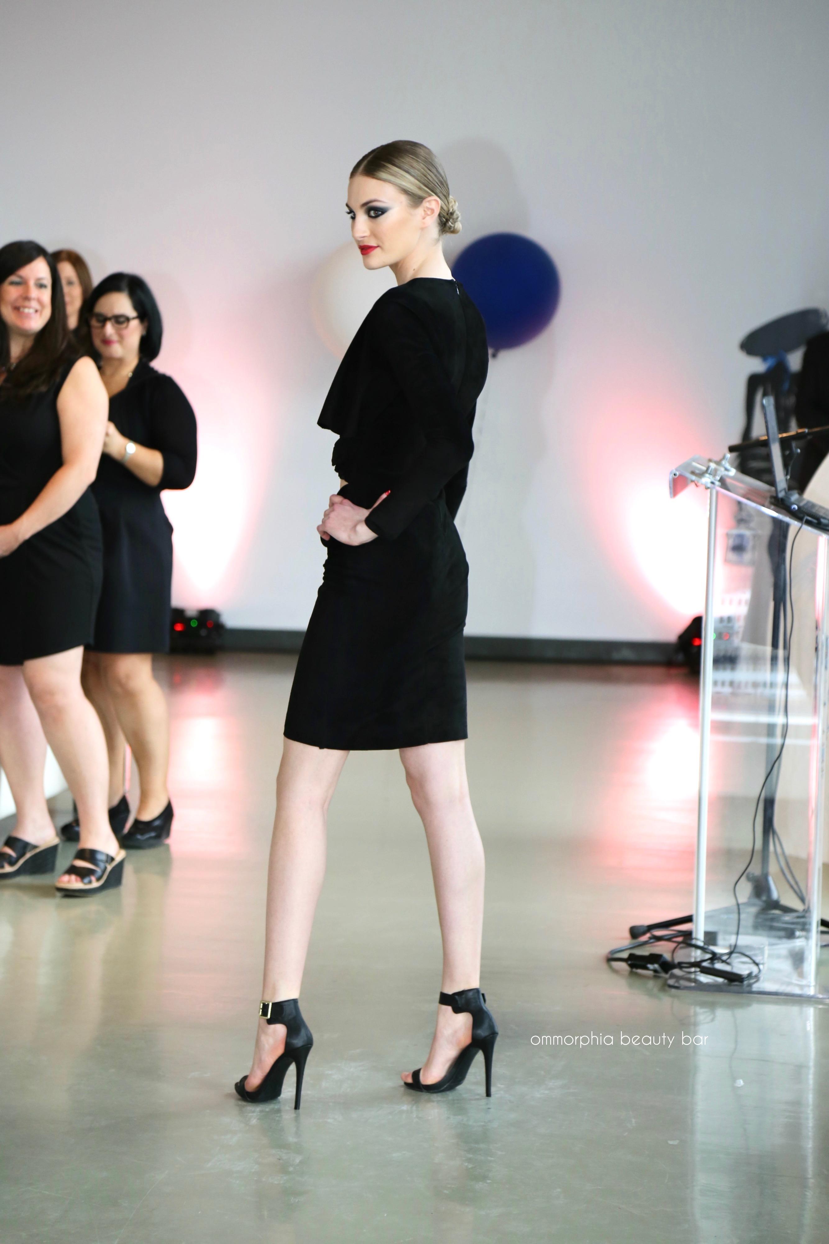 guerlain la petite robe noire fashion show denim jacket nail colour meeting thierry wasser. Black Bedroom Furniture Sets. Home Design Ideas