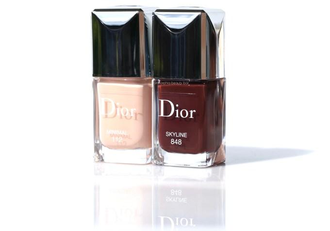 Dior Skyline & Minimal polishes