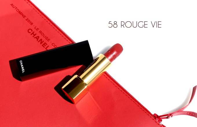 CHANEL Le Rouge extras 58 Rouge Vie