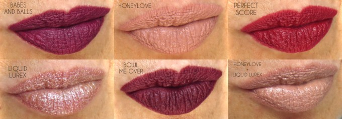 MAC It's A strike lipstick swatches 2