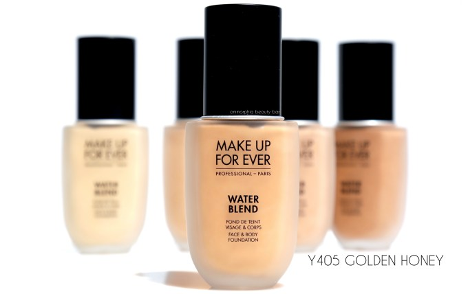 MUFE Y405 Water Blend foundation