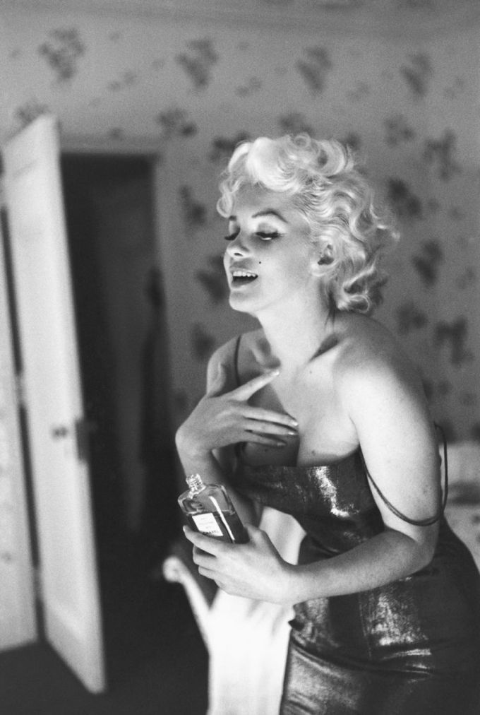 Marilyn Monroe & CHANEL No5