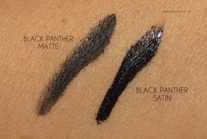 NARS Chic Out Black Panther Stylo duo swatches