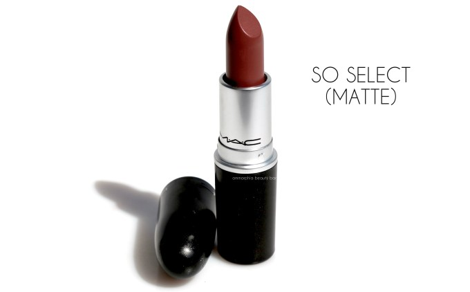 MAC So Select 1