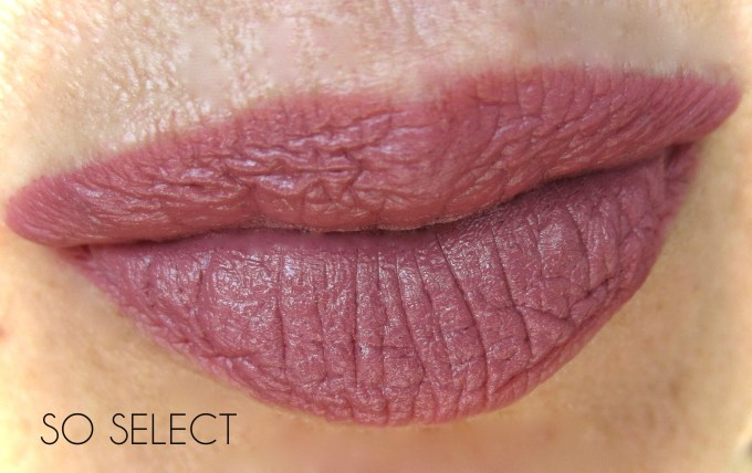 MAC So Select swatch